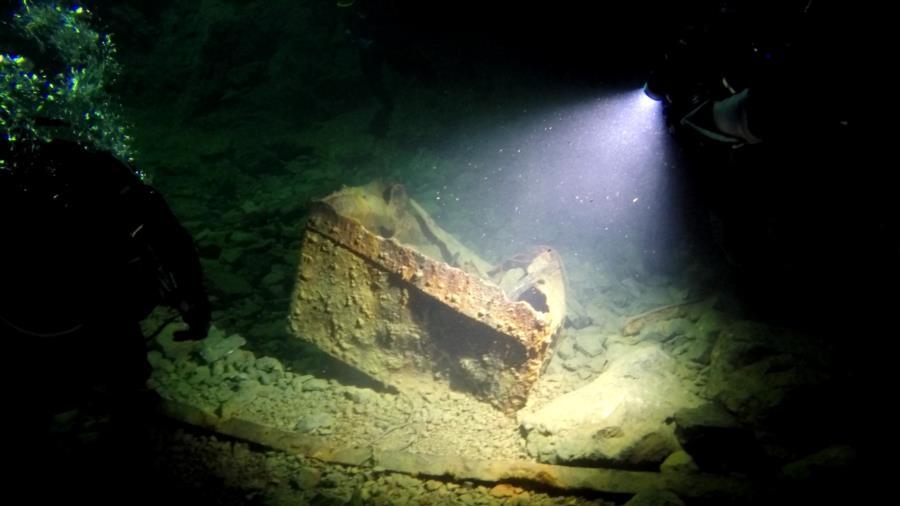 Bonne Terre Mine - Mine Cart