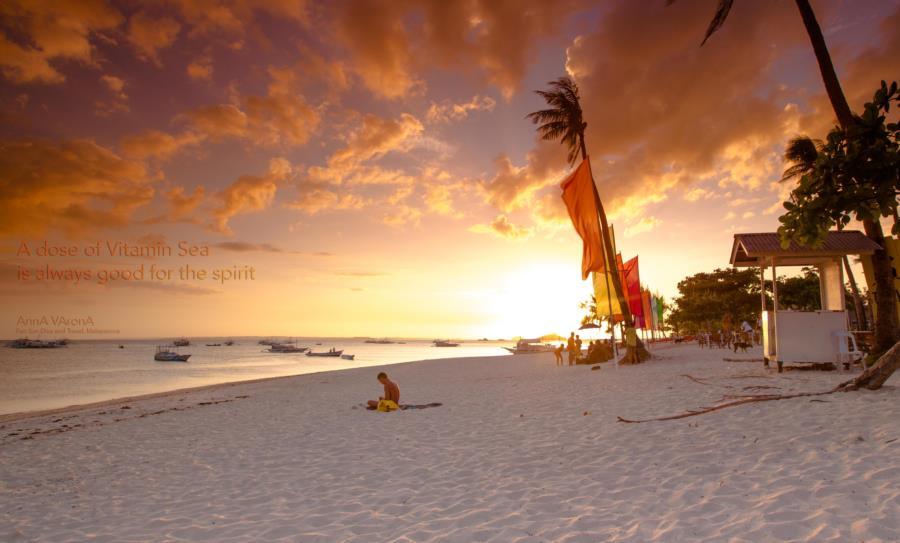 Malapascua - Sunset near Fun, Sun, Dive and Travel