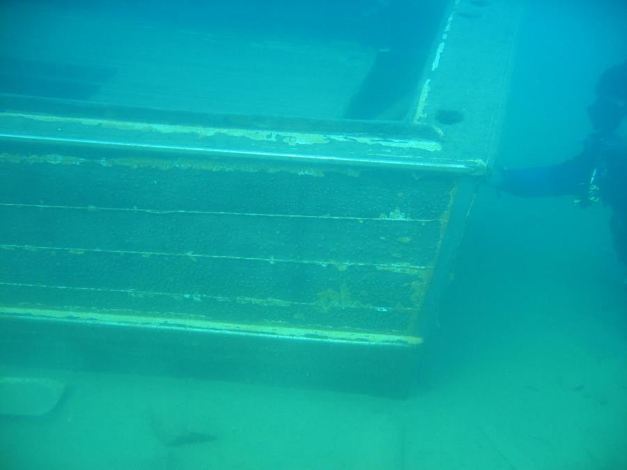 Blue Lagoon - Wreck