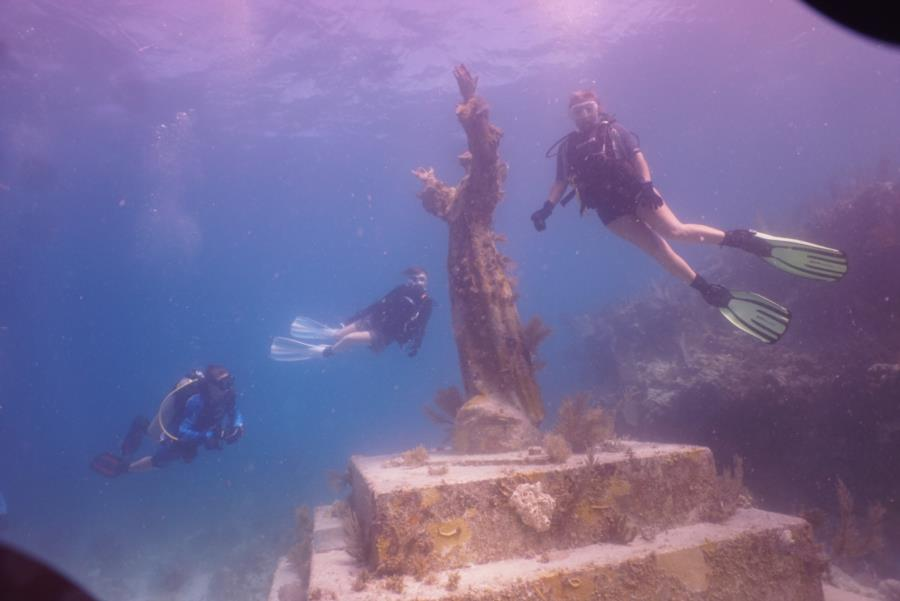 John Pennekamp Coral Reef State Park - Christ of the Abyss