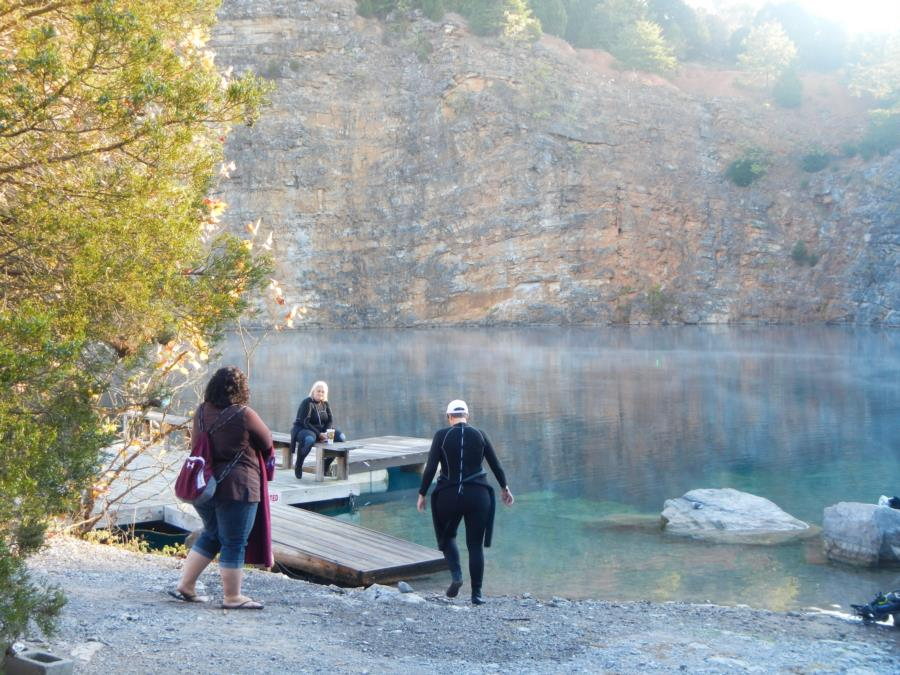 Philadelphia Quarry - Morning at Philly with Smoky Mountain Divers