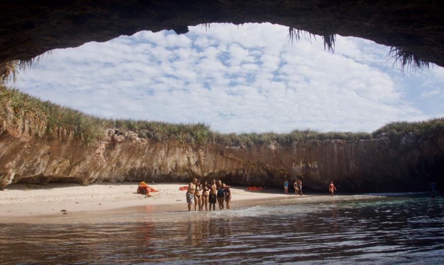 Islas Marietas - Hidden beach