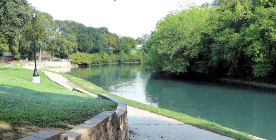 Comal River - Comal River from Hinman Island Park