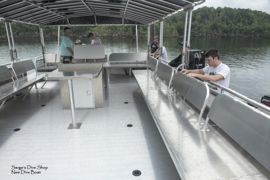 Summersville Lake - New Dive Boat 39' x 14'_ 4