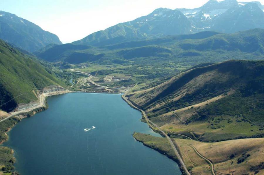 Deer Creek Reservoir - Deer Creek Dam and Reservoir
