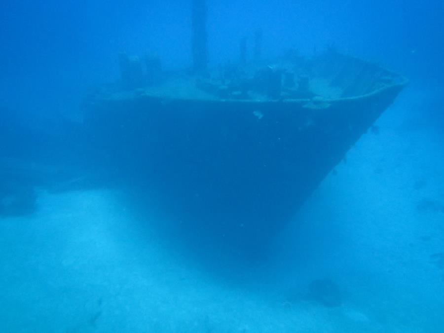 Wreck of El Aguila (El Aguilar) (The Eagle) - Bow