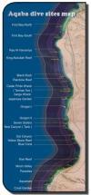 Aqaba - Aqaba-dive-sites-Map