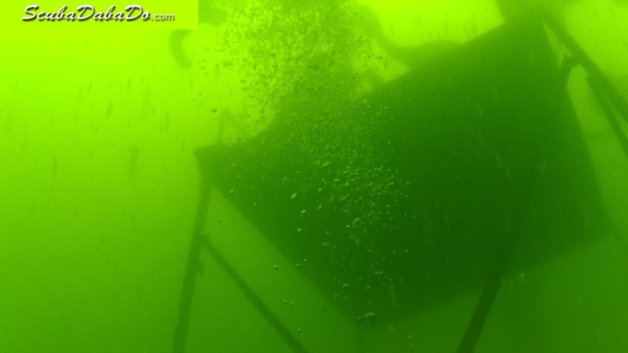 Wheeler Branch Lake - 018 - below the Platform at 44'
