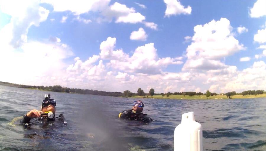 Wheeler Branch Lake - Dive Team - Vic & Vernon