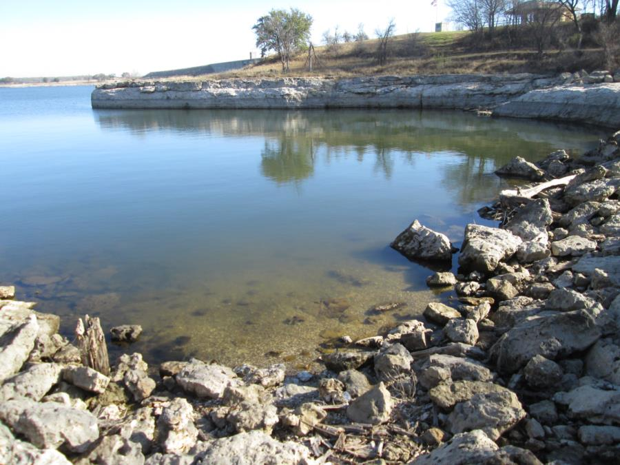 Lake Whitney - Soldiers Bluff Park - Easy entrance