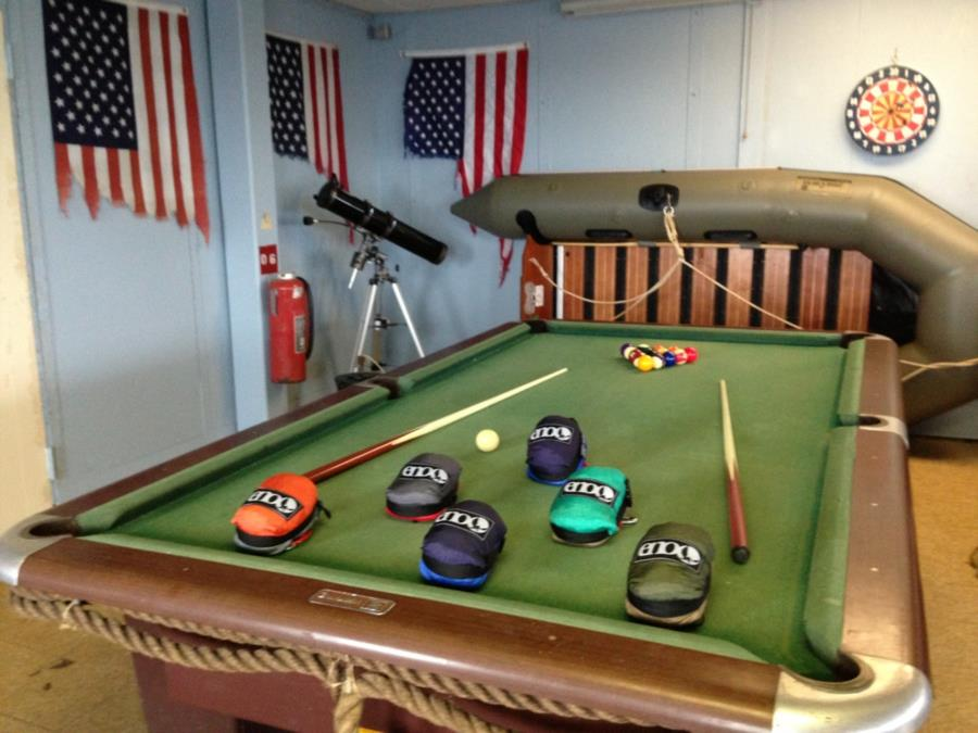 Frying Pan Tower - Light Station - Pool table