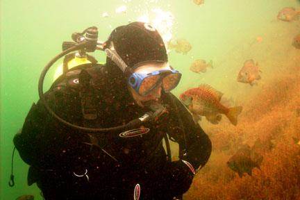 Cuyuna Iron Mines - Rusty water and sunnies