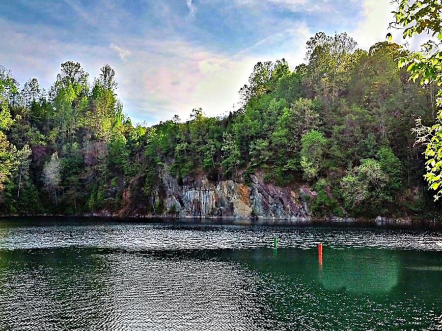 Rappahannock/Fredericksburg Quarry - Wall and Cliff Picture