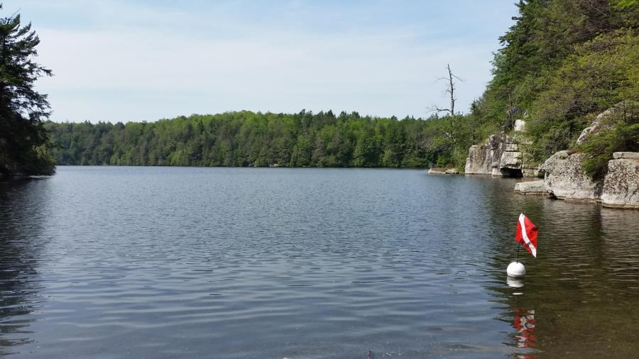 Lake Minnewaska - Minnewaska Beach