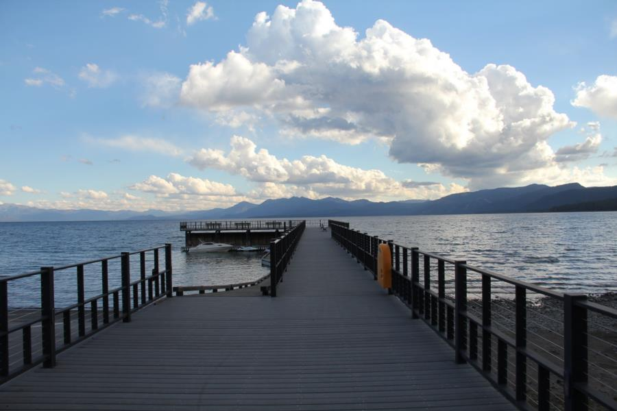 Lake Forest Coast Guard Pier - Lake Forest Pier on Lake Tahoe
