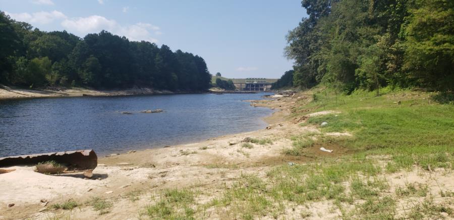 Toledo Bend Turbine Channel - Facing towards the Dam