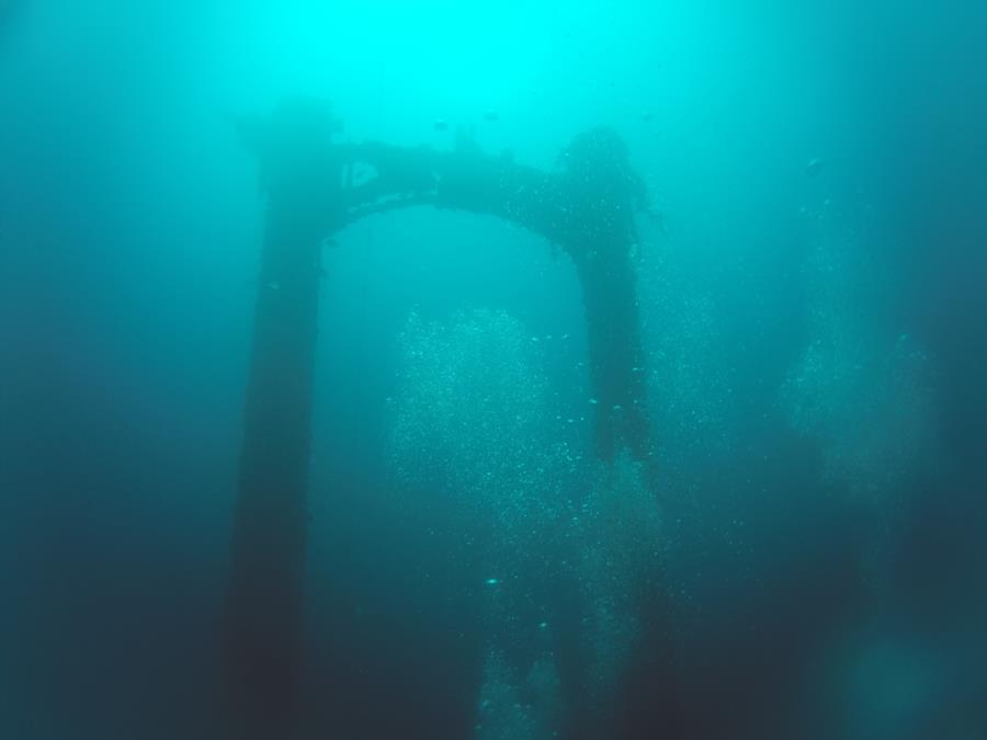 Kitsugawa Maru aka Kitzugawa Maru - Stern Mast
