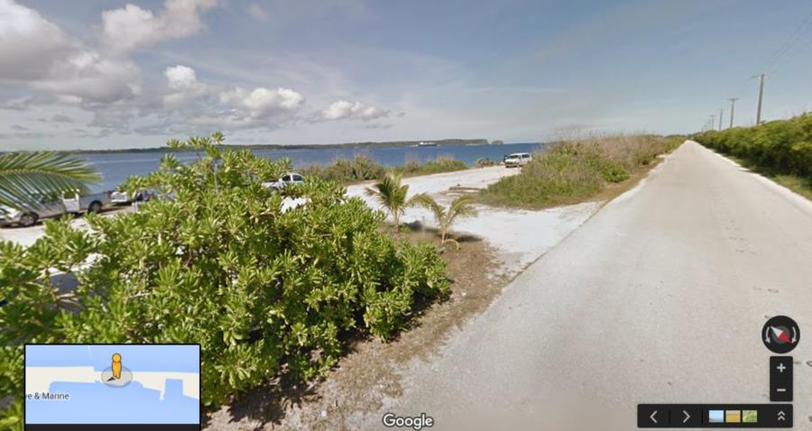 Out House Beach - Outhouse Beach from Google Street Viiew