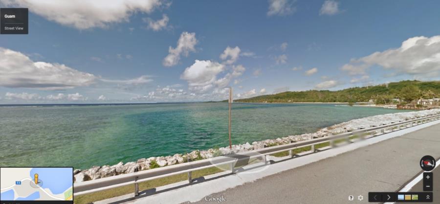 Piti Bay Channel - Piti Channel from Google Street View