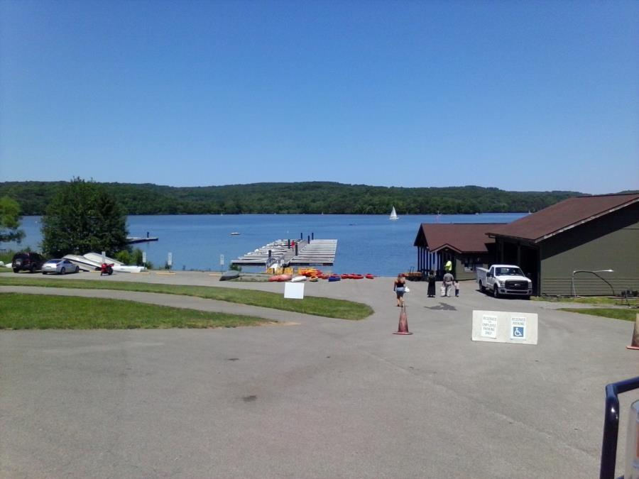 Moraine State Park - Boat Launch