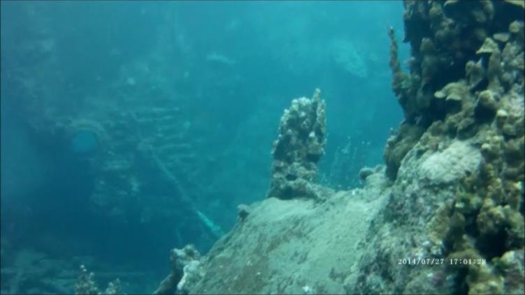 Concrete Barges (a.k.a. Breakwater Barges) - Concrete Barge Wreckage