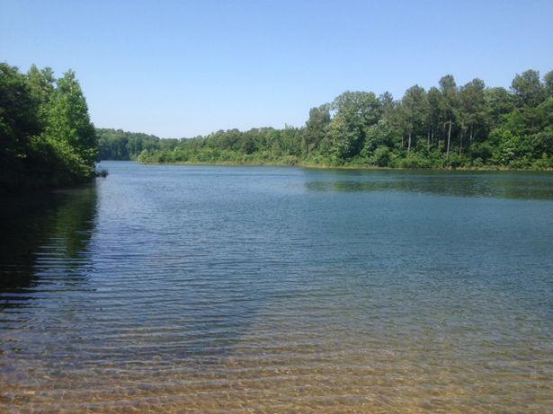 Cedar Creek Reservoir - At boat ramp