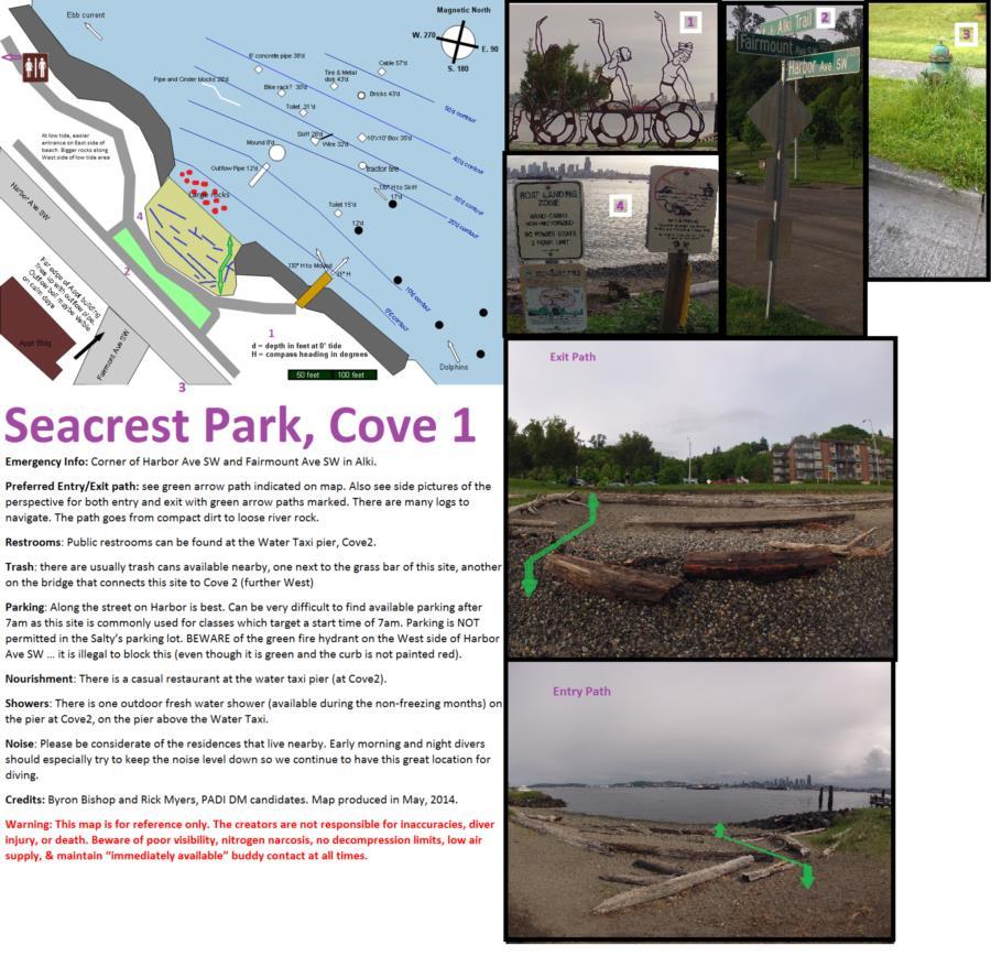 Alki Cove 1 - AlkiCove1DiveMap