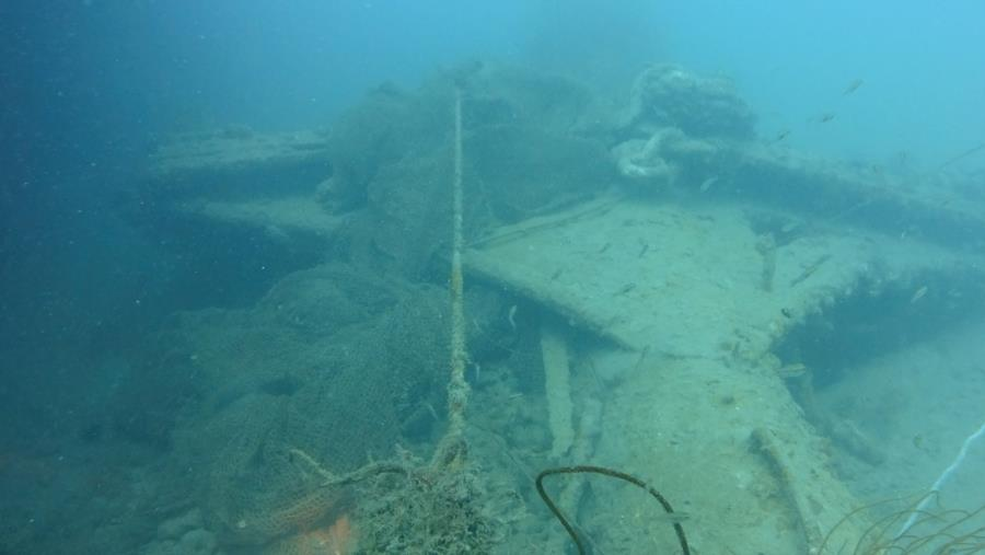Katori Maru - Front Deck
