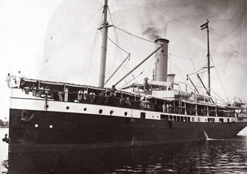 SS De Klerk (Australian Wreck, Imbari Maru) - SS De Klerk