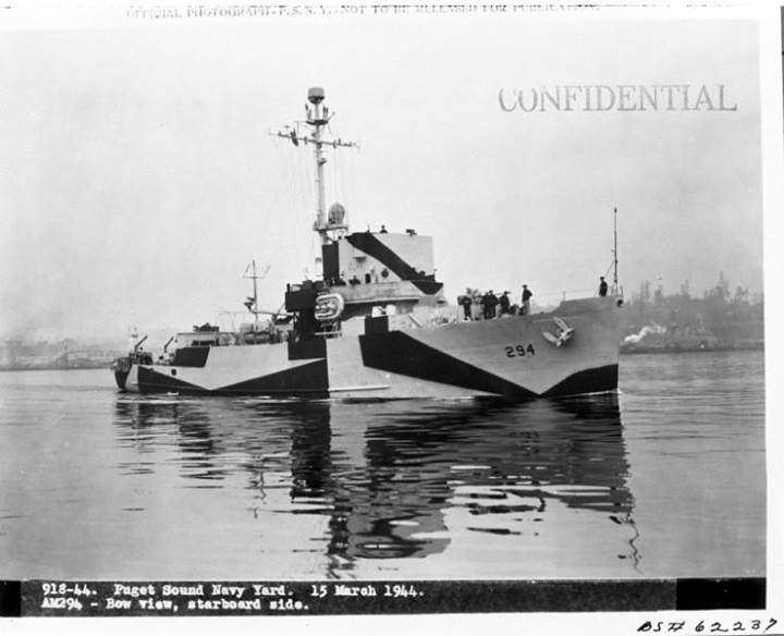 USS Salute (American wreck) - USS Salute