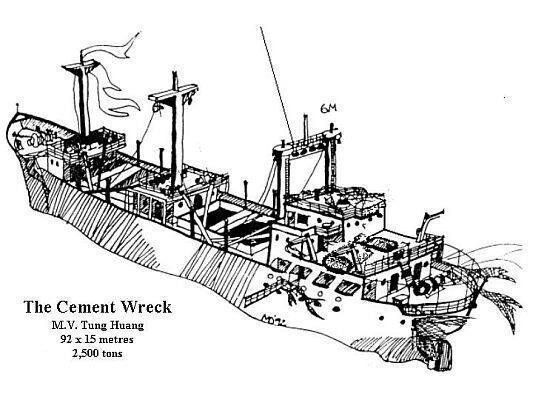MV Tung Hwuang (Cement Wreck) - MV Tung Hwuang