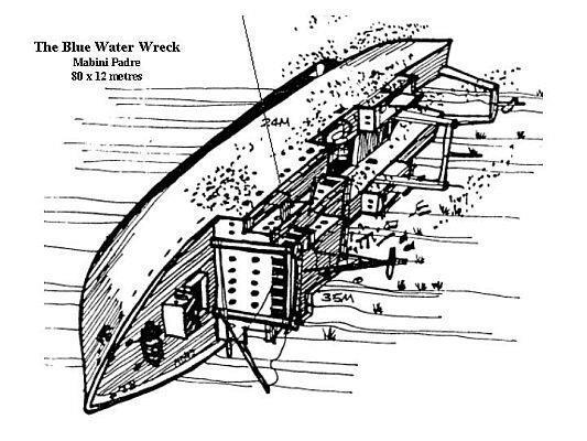 Mabini Padre (Blue Water Wreck) - Mabini Padre