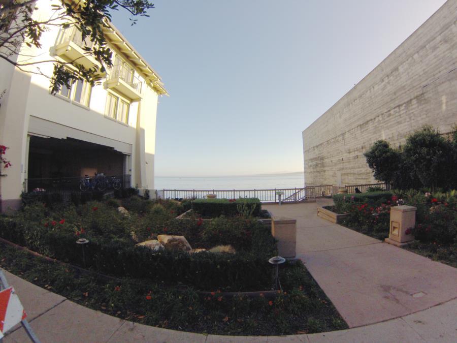 Aeneas Beach - Street View of Entry to Aeneas Beach