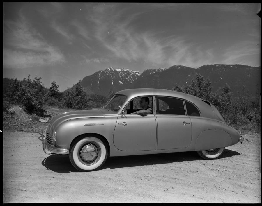 Lost Treasure, sunken Tatra 600 Tatraplans - Tatra Teraplan