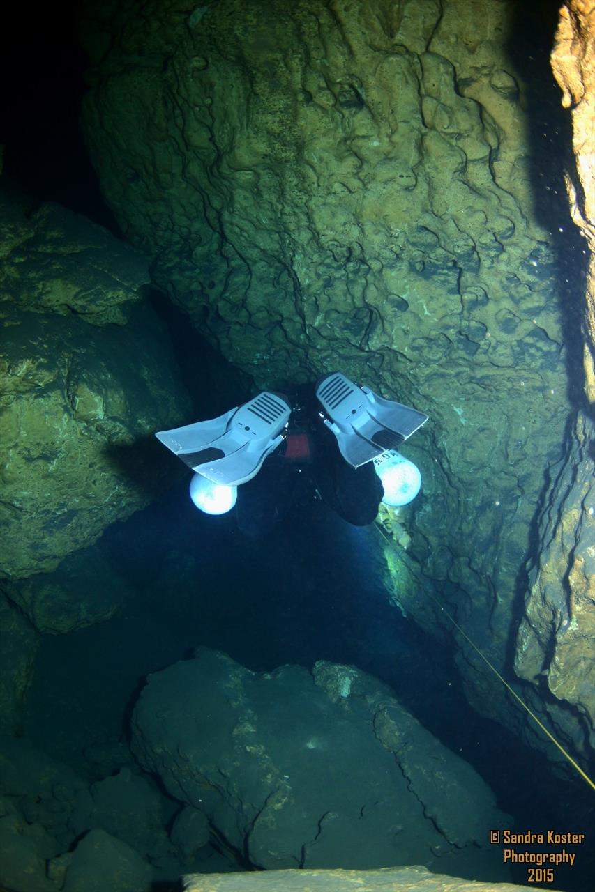The Cave at Blue Grotto (aka: Blue Grotto Cave) - Backside bottom