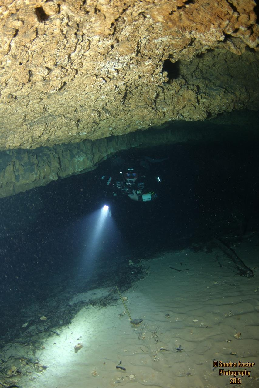 The Cave at Blue Grotto (aka: Blue Grotto Cave) - Exiting the Cave