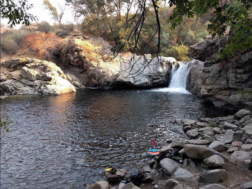 Rainbow Falls (Alt Dive) - Lower Rainbow Pools