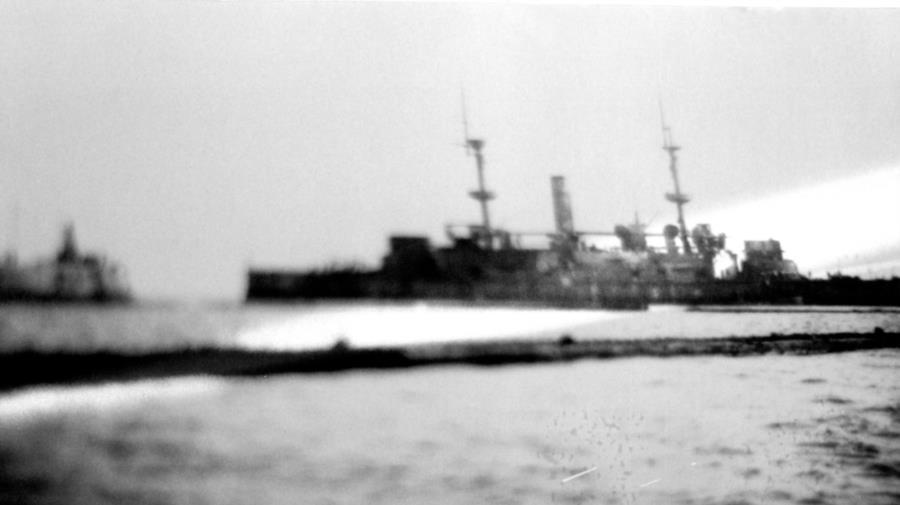 HMS Hood - HMS Hood prior to Scuttleing
