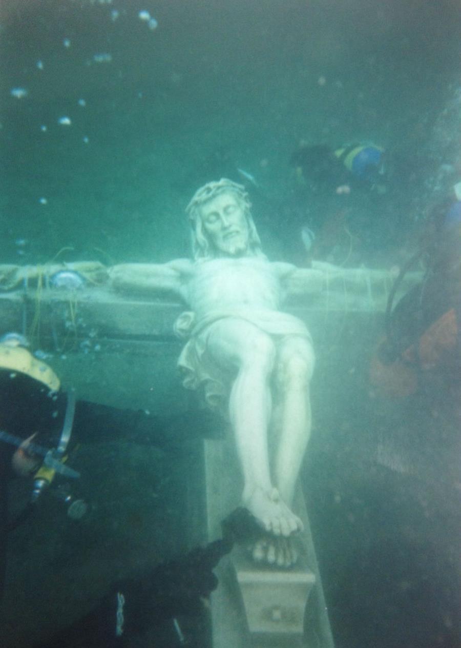 Underwater Crucifix - Crucifix