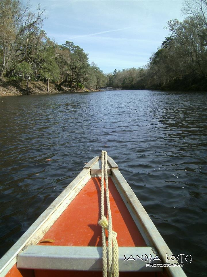 Lineater Spring - Canoe trip to the river cave.