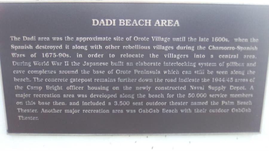 Dadi Beach - Dadi Beach Sign