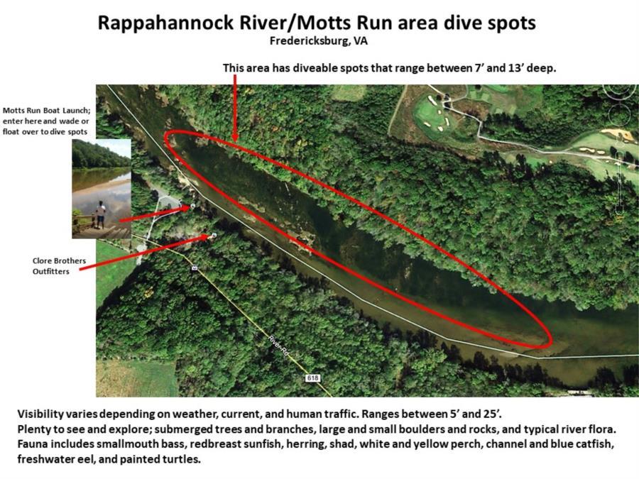 Rappahannock River - Rappahannock River dive spots