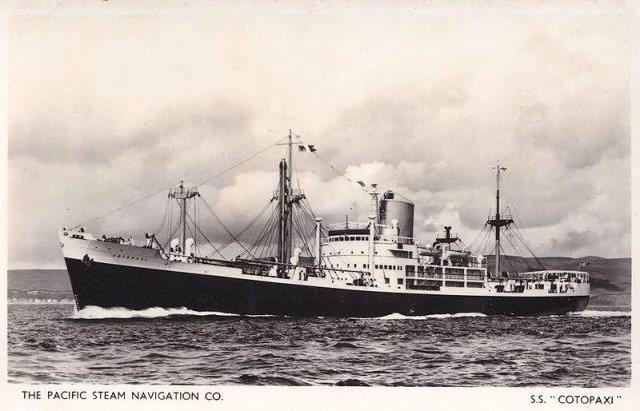 Bear wreck AKA SS Cotopaxi - SS Cotopaxi in better times