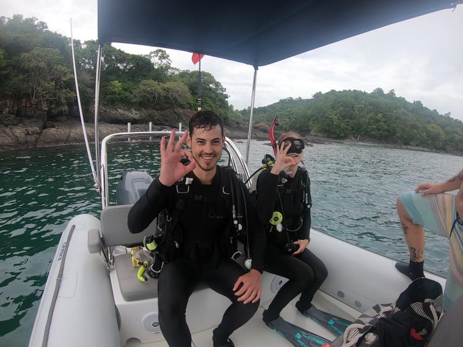 Barracuda Island Dive - buddyes