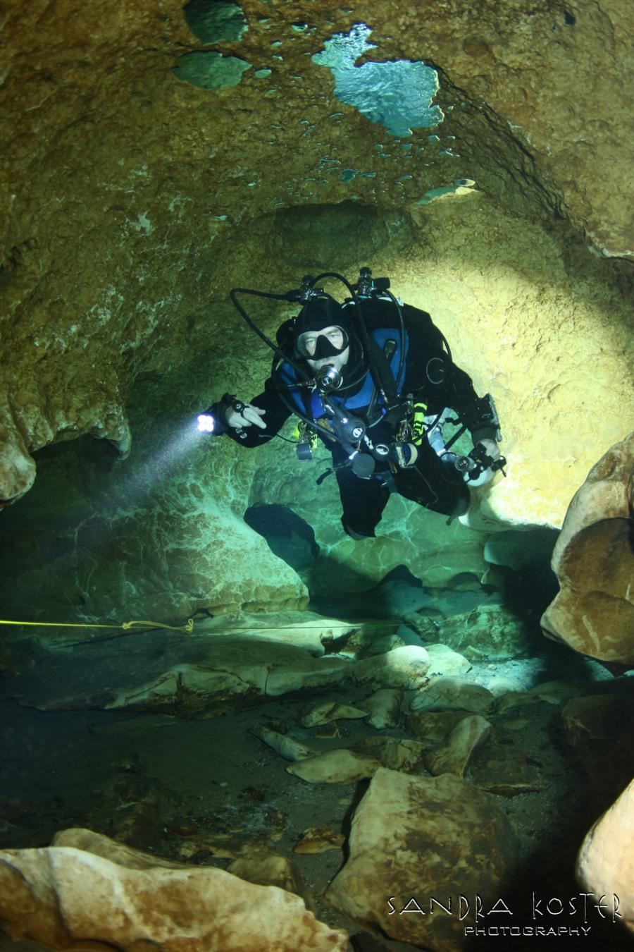 Little River Springs - deeper into the cave