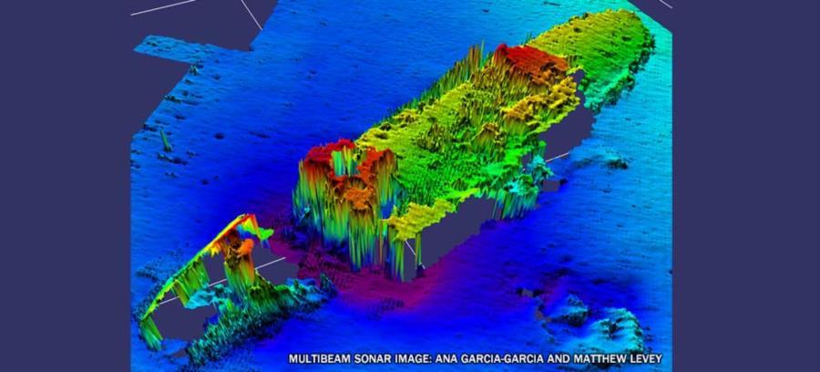 USS Strength - Wreck Site