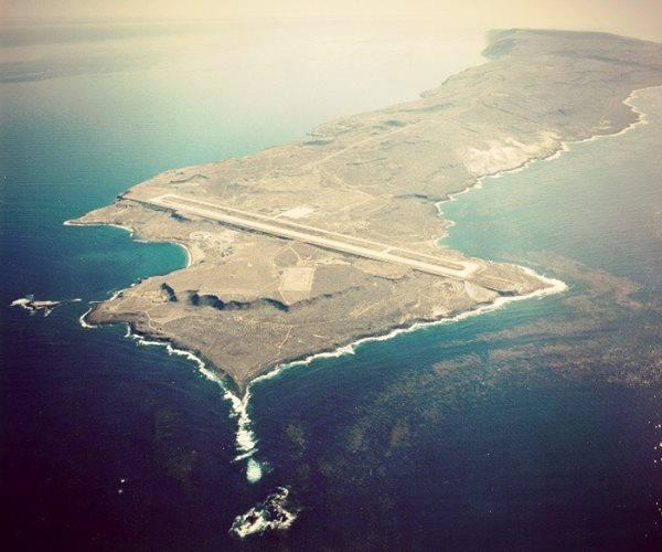San Clemente Island - Photo without the ever present fog