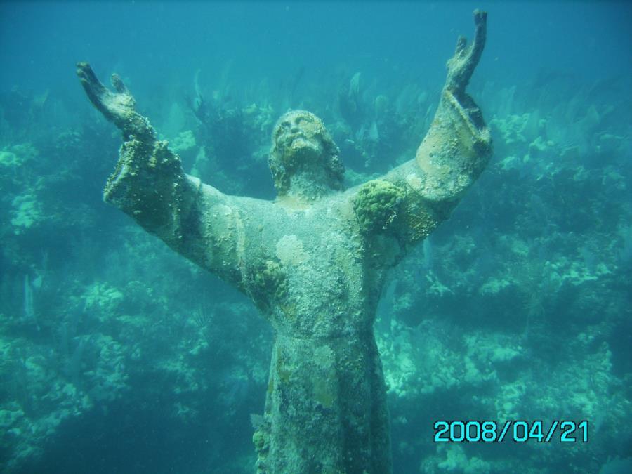 Christ of the deep key largo florida