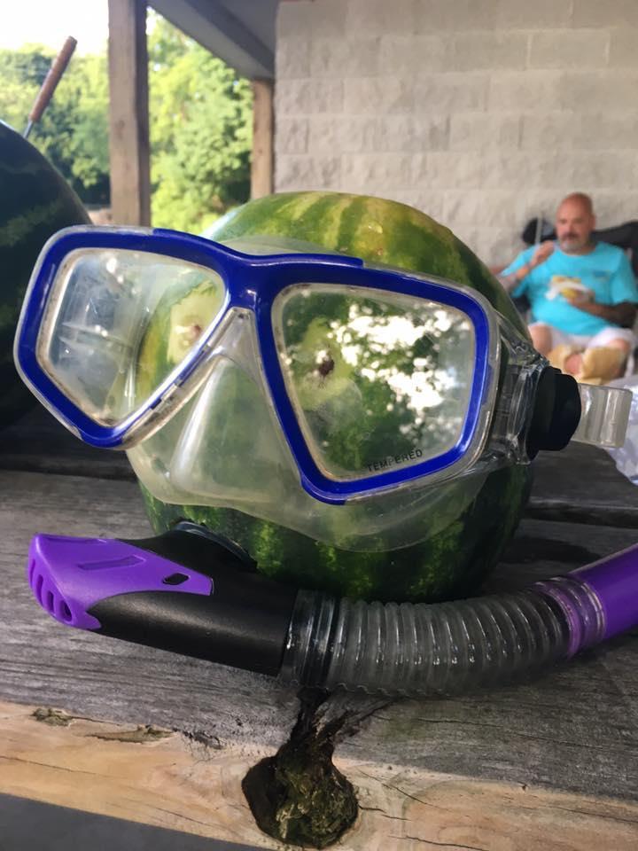 Watermelon Diver
