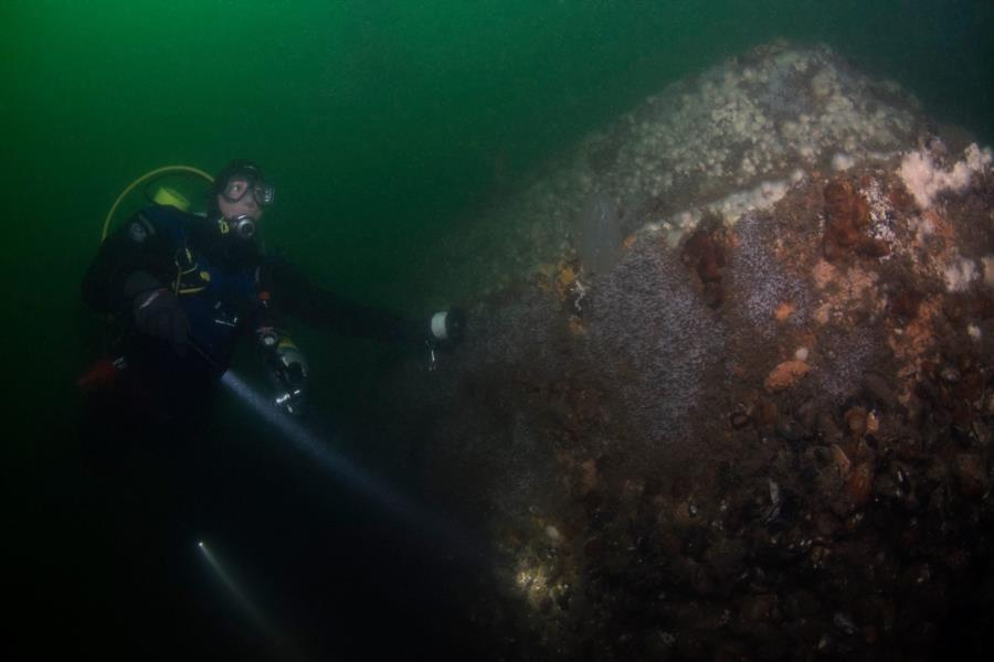 Diving Rockland County wreck off new jersey coast